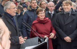 TME - Angelobung Hrn. Bundespräsidenten Alexander van der Bellen - Wien 2017
