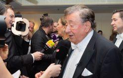 HP Abholung von Ornella Muti durch BM Richard Lugner - Grand Hotel Wien - 20.02.2020