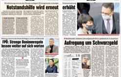 Publikationen Jänner 2021 in diversen Zeitungen und Magazinen