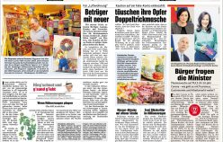 Publikationen Februar 2021 in diversen Zeitungen und Magazinen
